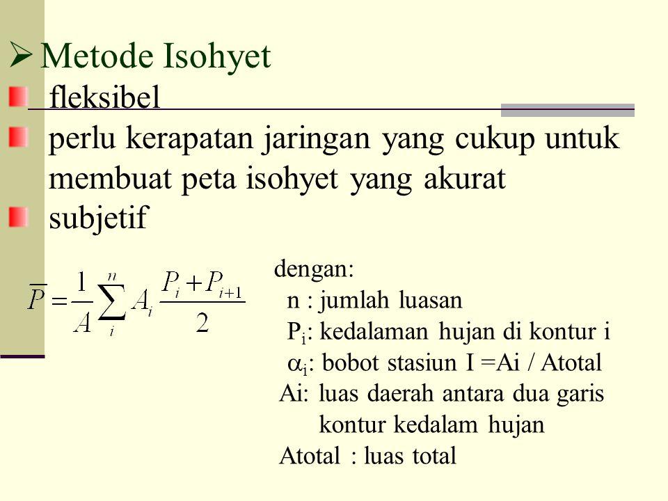  Metode Thiessen A B C D E