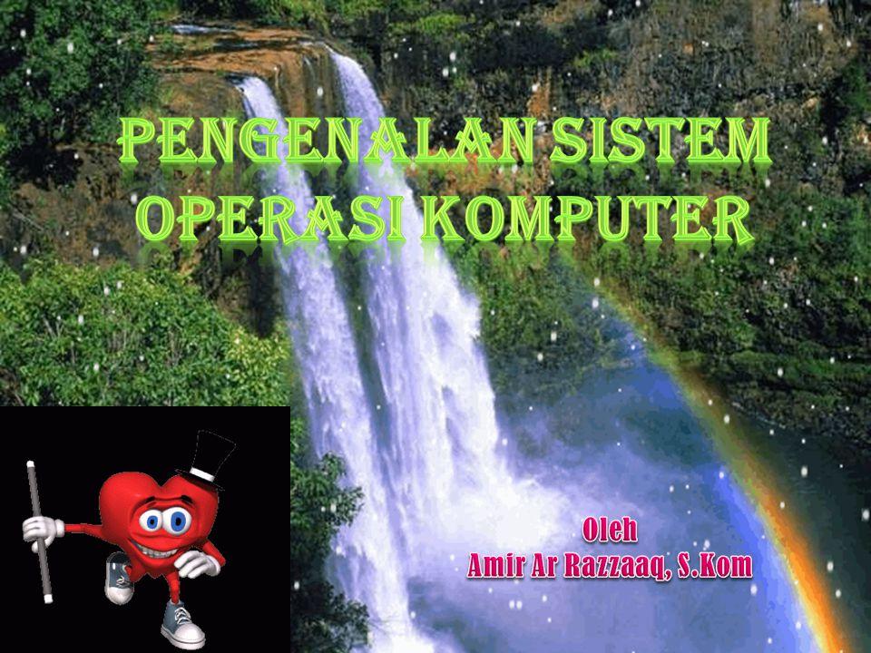 Pelayanan Sistem Operasi (1)  Eksekusi program: meload program ke memory dan menjalankannya (run).