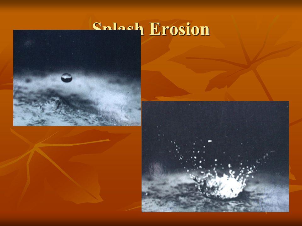 Splash Erosion