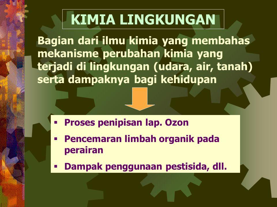 DAYA DUKUNG ALAM •dapat berkurang atau menyusut •Terbentuknya daya dukung alam memerlukan proses yg lama •Kerusakan daya dukung alam : A. Faktor inter