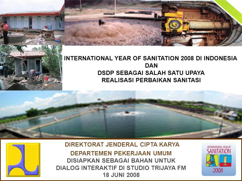 INTERNATIONAL YEAR OF SANITATION 2008
