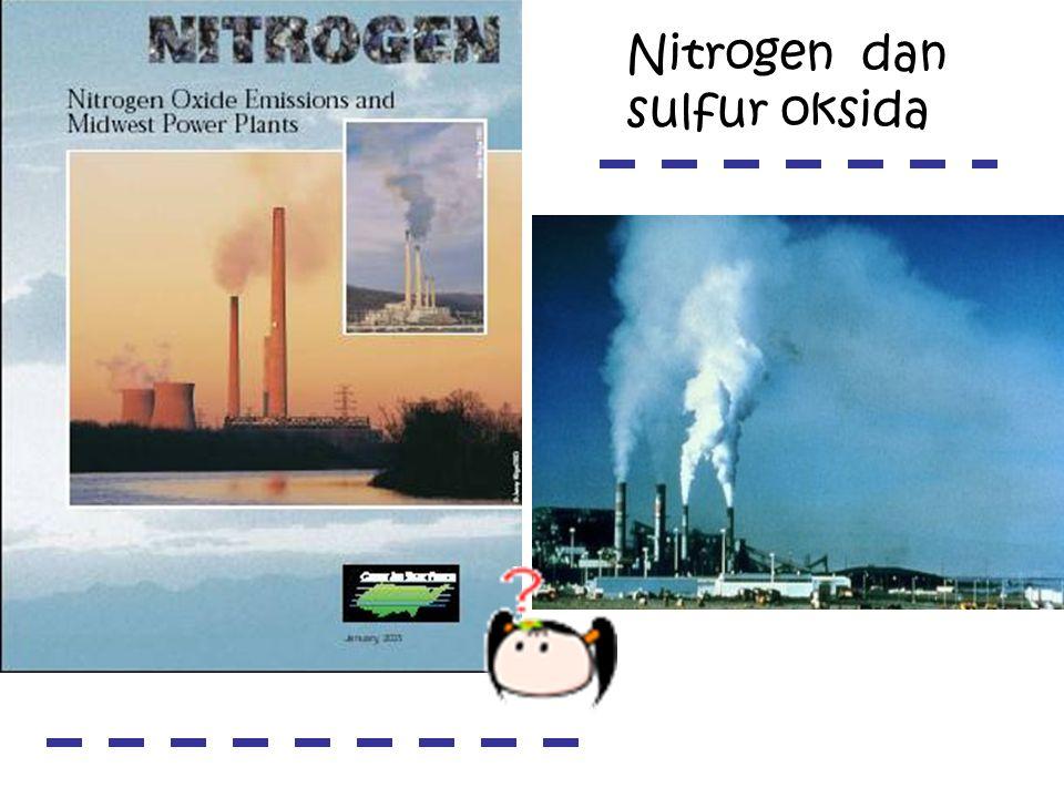 Sumber tak langsung (non point sources) Sumber langsung (point sources) Sumber polusi air