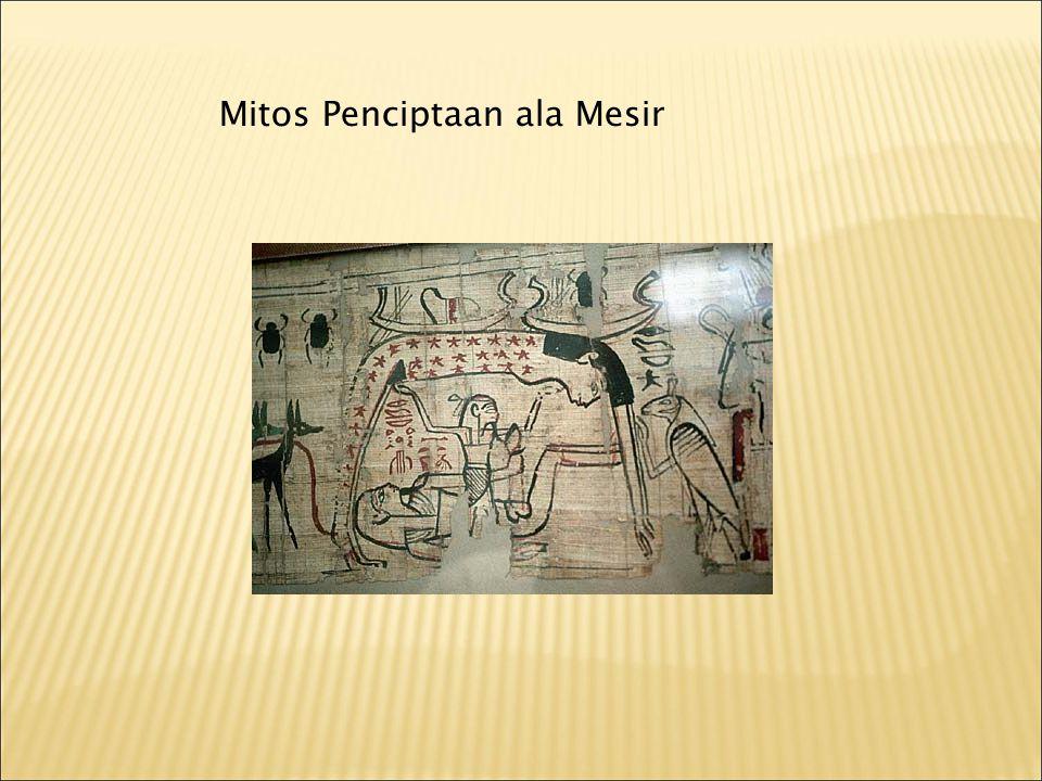 Mitos Penciptaan ala Mesir