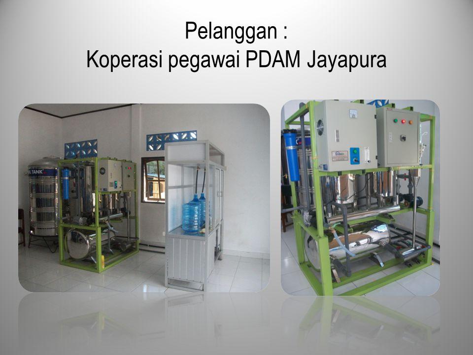 Pelanggan : Koperasi pegawai PDAM Jayapura