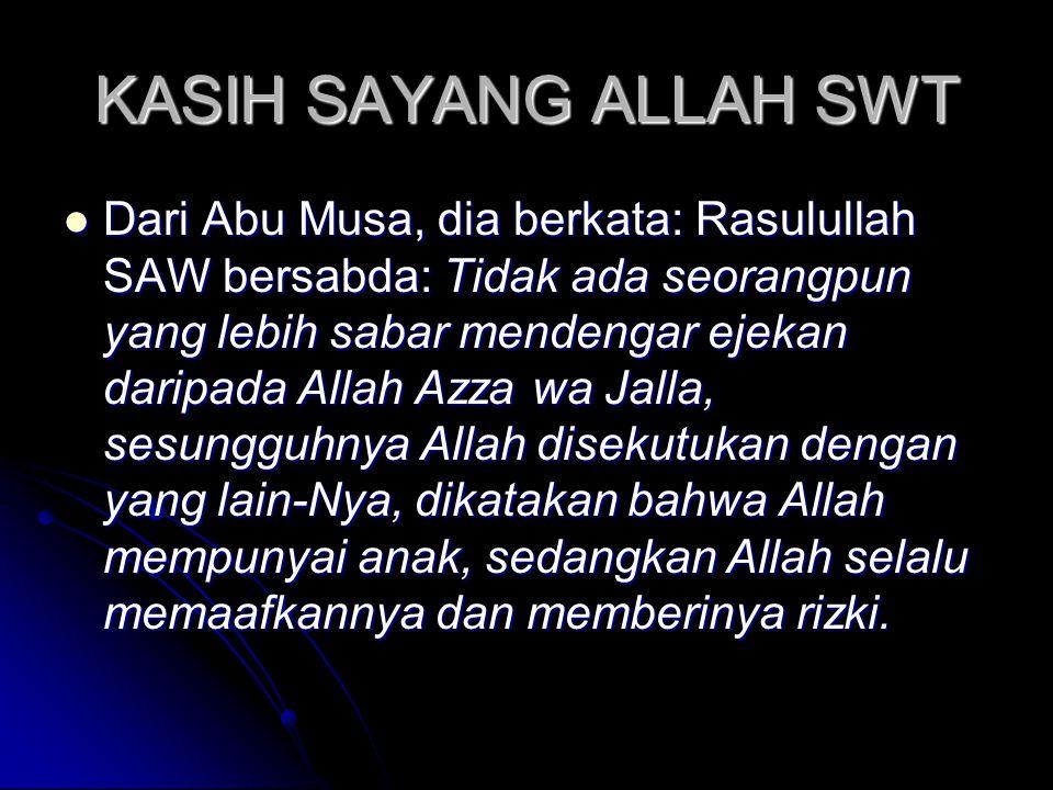 ISLAM  Pemilihan Selain Islam Sebagai Agama Tertolak QS Al Imron (3):85               85.