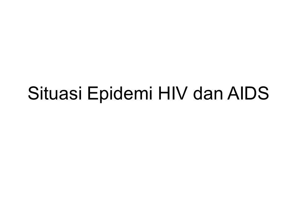 DISTRIBUSI KASUS AIDS MENURUT KELOMPOK UMUR DI JAWA TENGAH 1993 S/D 30 Sept 2011 TOTAL AIDS (1993-2011) = 1.899; Usia 15 s/d 24 thn = ± 11,54% (3,16%) (1,05%) (0,47%)(0,9%) (10,64%) (27,75%) (20,8%) (14,9%) (8,53%) (6,53%) (4,27%) (0,58%) (0,42%)