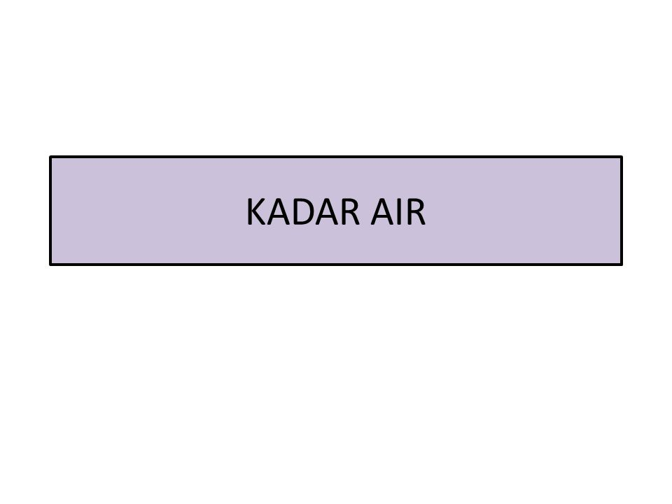KADAR AIR