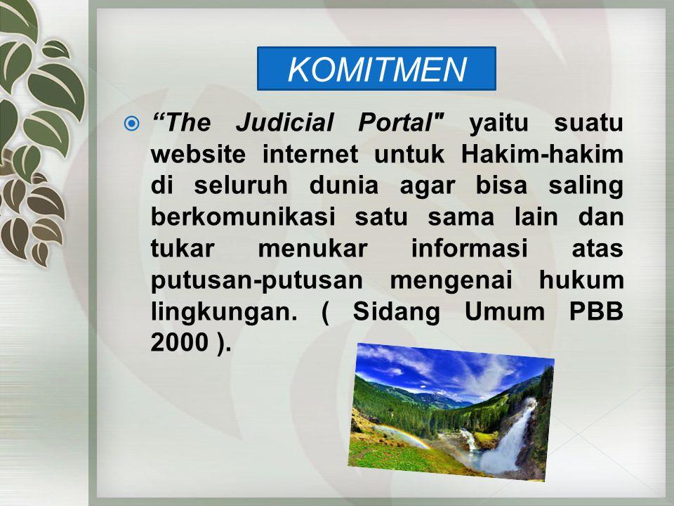 """ """"The Judicial Portal"""