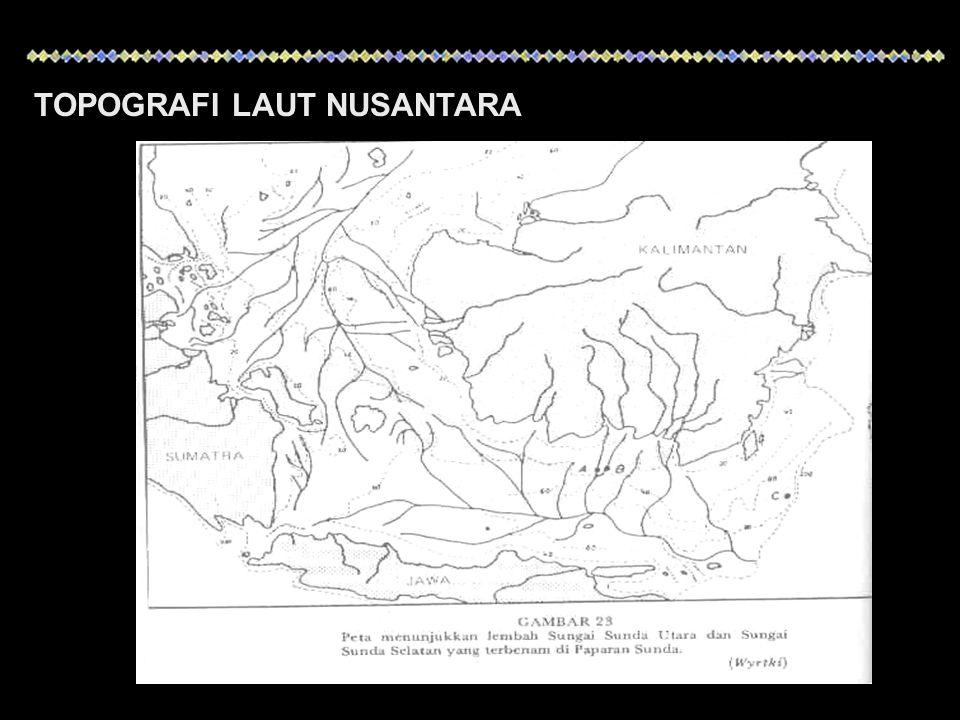 Sebaran salinitas dipengaruhi beberapa faktor : Pola sirkulasi air Penguapan Curah hujan Aliran sungai Salinitas di perairan tropis relatif lebih tinggi dibadingkan di wilayah lainnya akibat faktor penguapan yang tinggi
