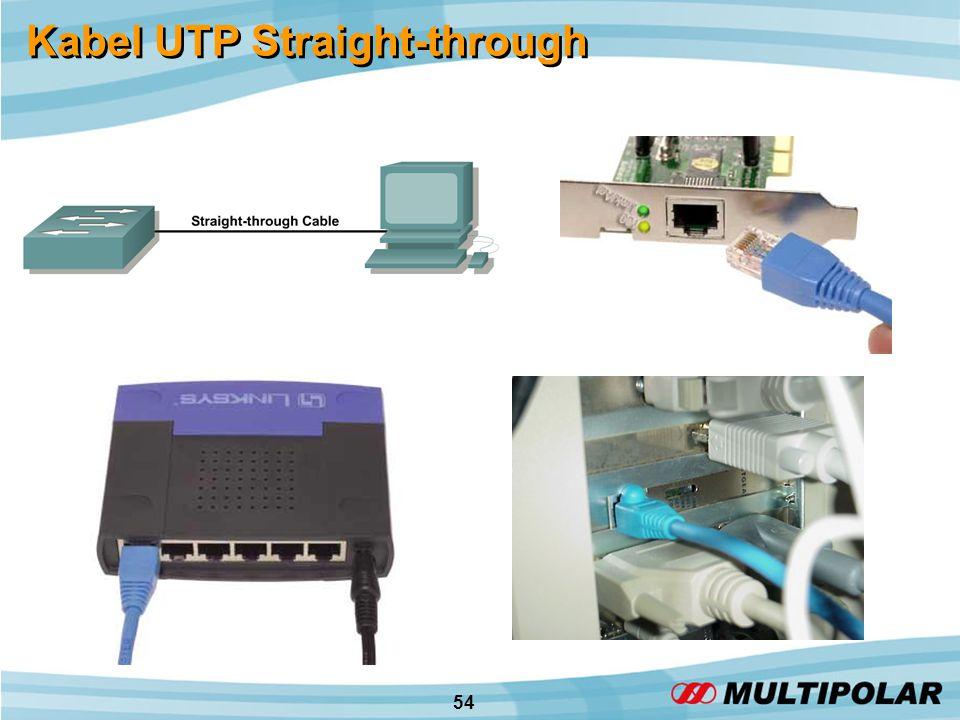 54 Kabel UTP Straight-through