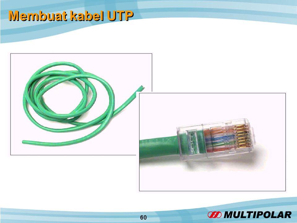 60 Membuat kabel UTP