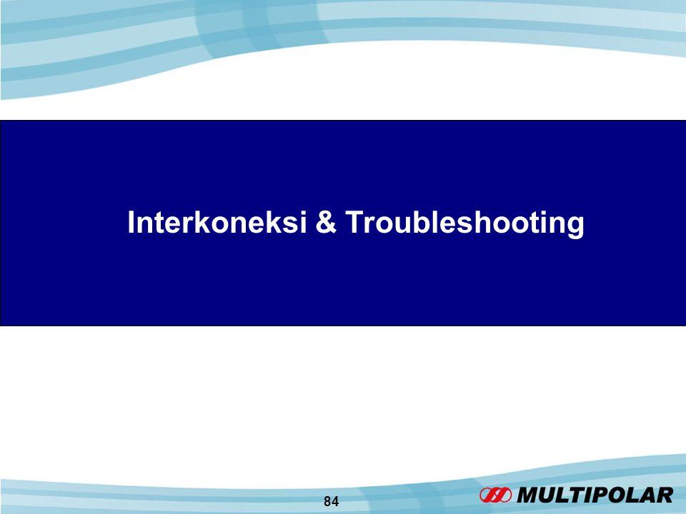 84 Interkoneksi & Troubleshooting