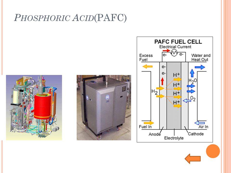 P HOSPHORIC A CID (PAFC)