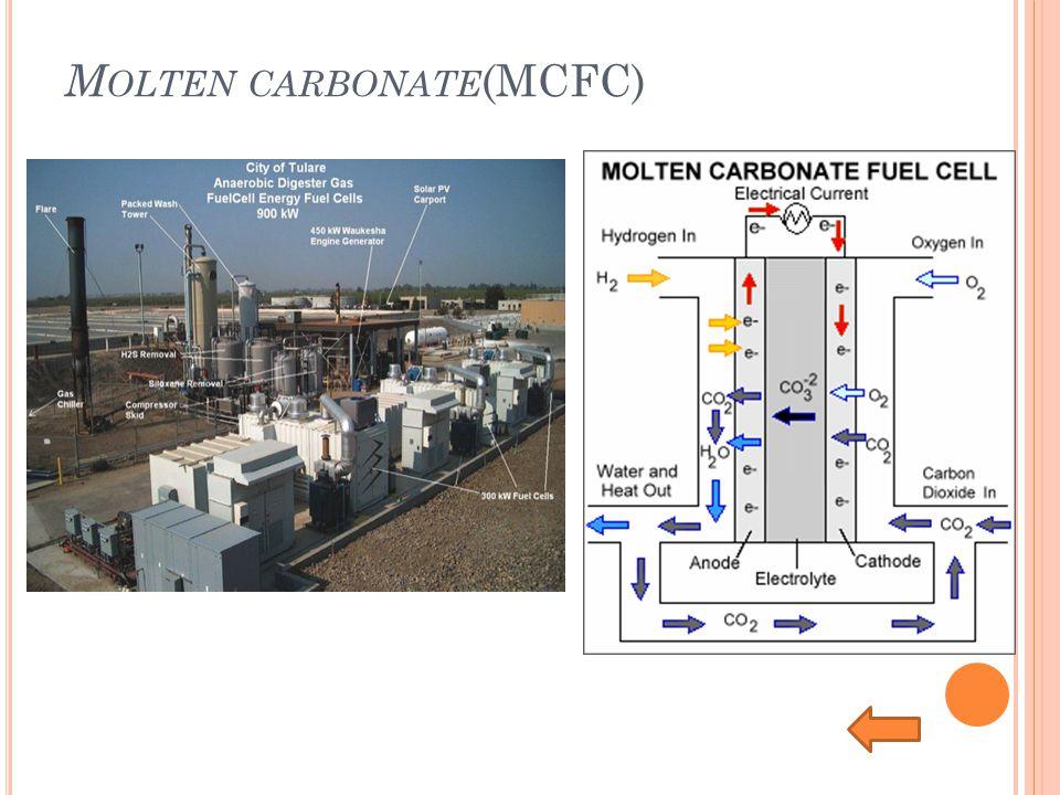 M OLTEN CARBONATE (MCFC)