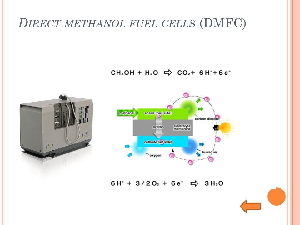 D IRECT METHANOL FUEL CELLS (DMFC)