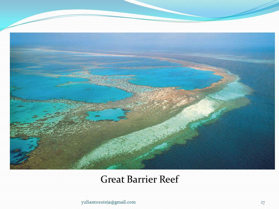 Great Barrier Reef 17yuliantosuteja@gmail.com