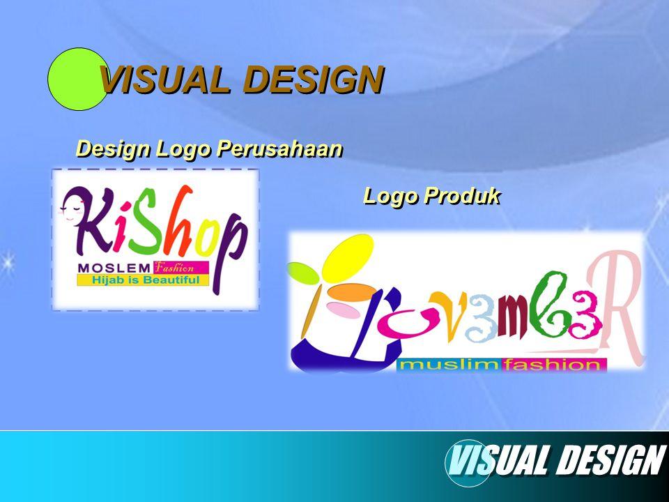 VISUAL DESIGN Design Logo Perusahaan Logo Produk