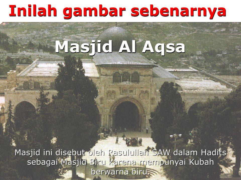 Sebagian orang mengatakan ini adalah Masjid Khalifah Umar Bin Khattab ra.