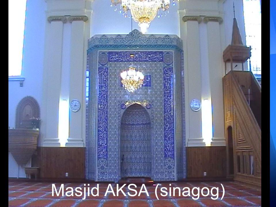 Masjid AKSA - Belanda (asalnya dari Sinagog Rumah Ibadah Yahudi)