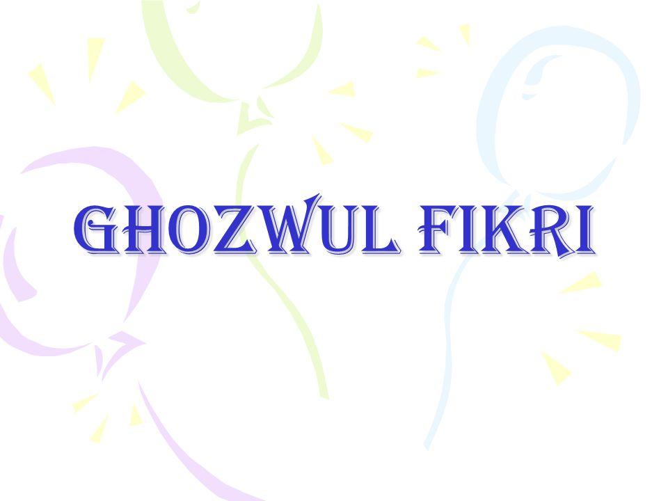 GHOZWUL FIKRI