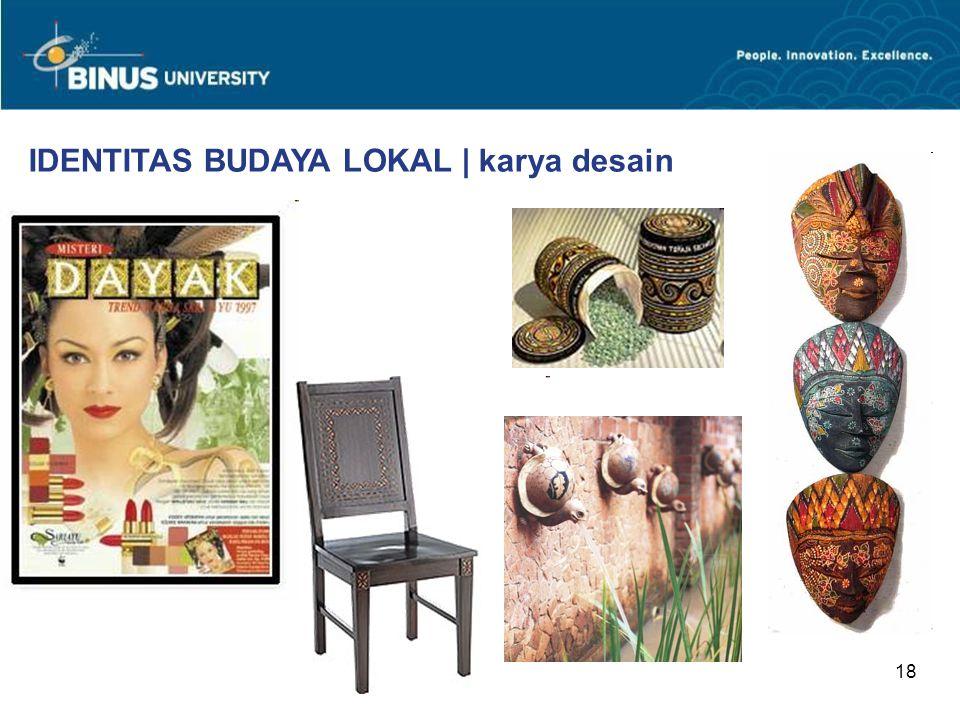 18 IDENTITAS BUDAYA LOKAL | karya desain