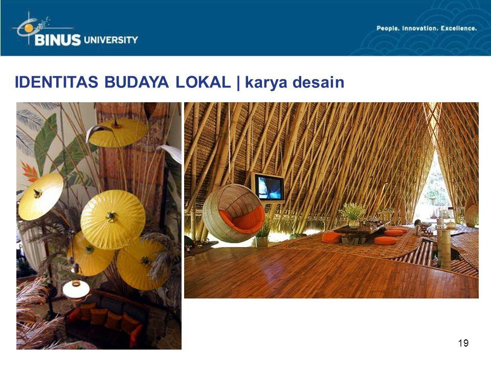 19 IDENTITAS BUDAYA LOKAL | karya desain