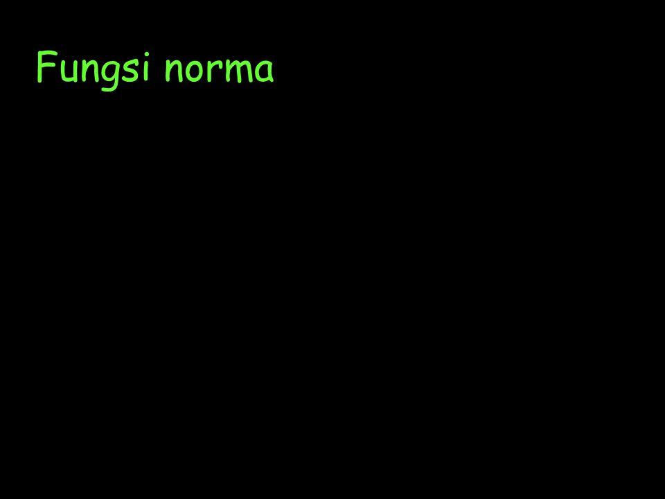 JENIS-JENIS NORMA Norma dapat dibagi menjadi dua menurut : 1.Kekuatan sanksinyaKekuatan sanksinya 2.Resmi tidaknya norma tersebutResmi tidaknya norma