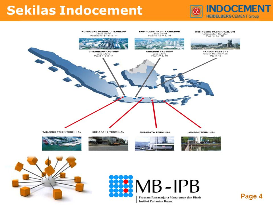 Powerpoint Templates Page 4 Sekilas Indocement