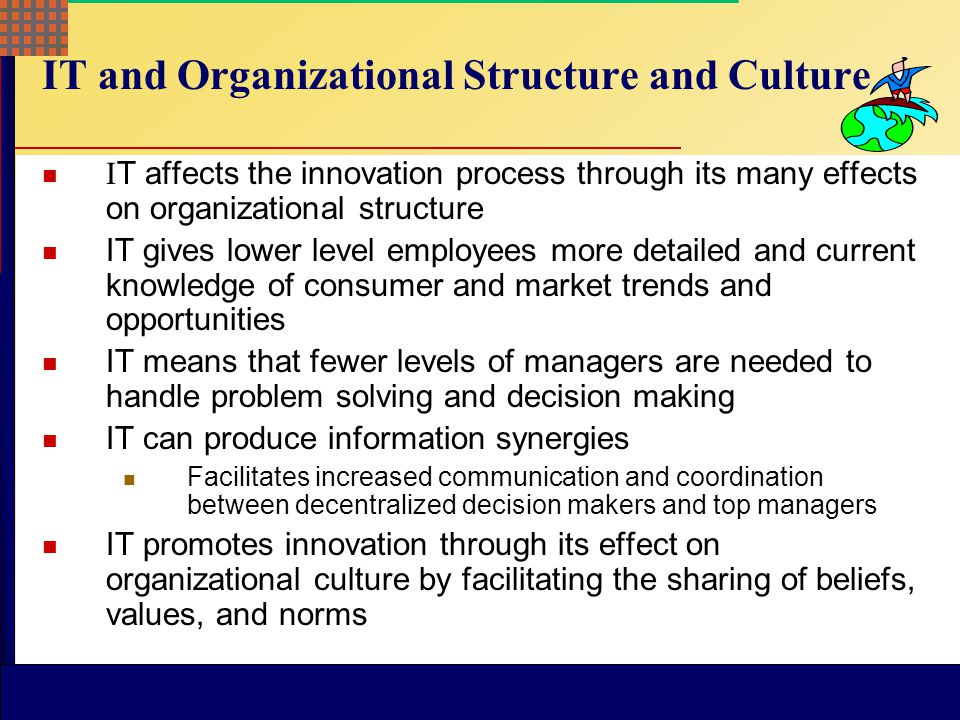 McGraw-Hill © 2004 The McGraw-Hill Companies, Inc. All rights reserved. McGraw-Hill/Irwin Innovation and Information Technology  Information efficien