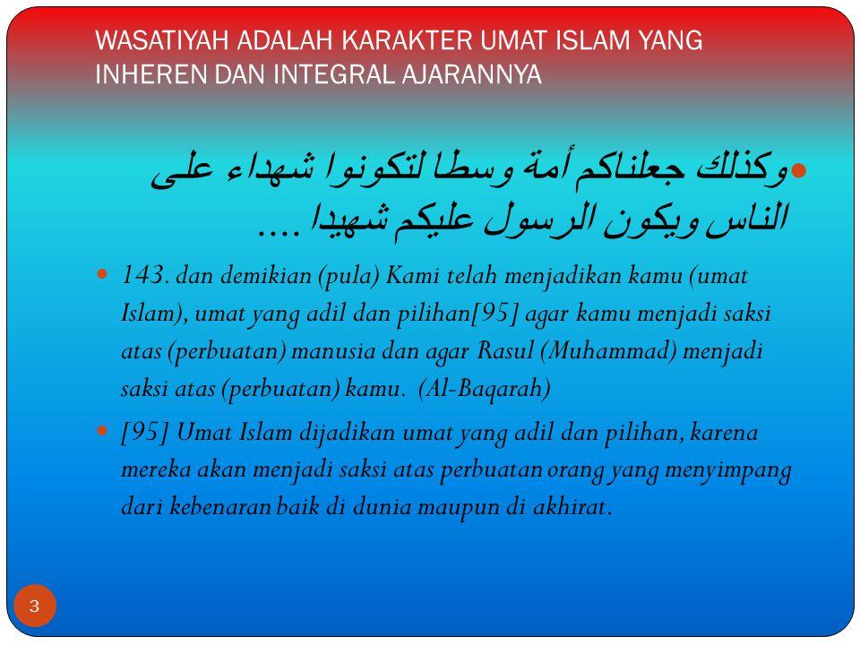  Selain mengakui adanya PERSAMAAN/KESETARAAN antara laki-laki dan perempuan dalam hal kemanusiaan, kemuliaan, dan hak-hak umum yang terkait langsung dengan posisinya sebagai hamba Allah SWT, Islam telah MEMBEDAKAN perlakuan terhadap laki-laki dan perempuan dalam sebagian hak dan kewajiban.