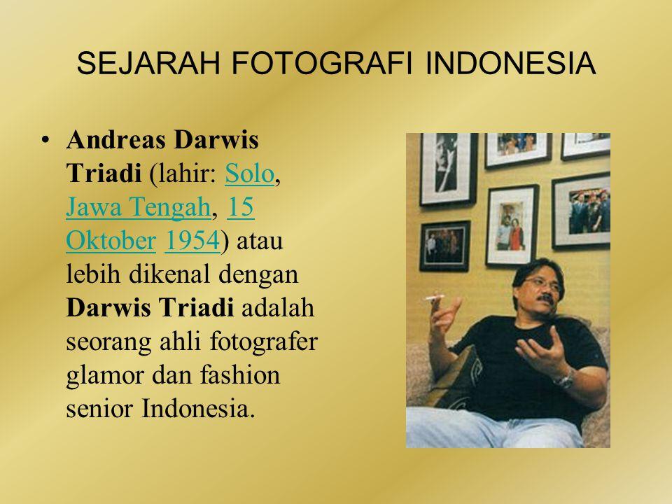 SEJARAH FOTOGRAFI INDONESIA •Kristupa Wicaksana Saragih (lahir Jambi, 18 Desember 1976) adalah seorang tokoh muda fotografi Indonesia.
