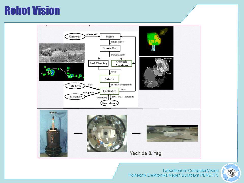 Laboratorium Computer Vision Politeknik Elektronika Negeri Surabaya PENS-ITS Robot Vision