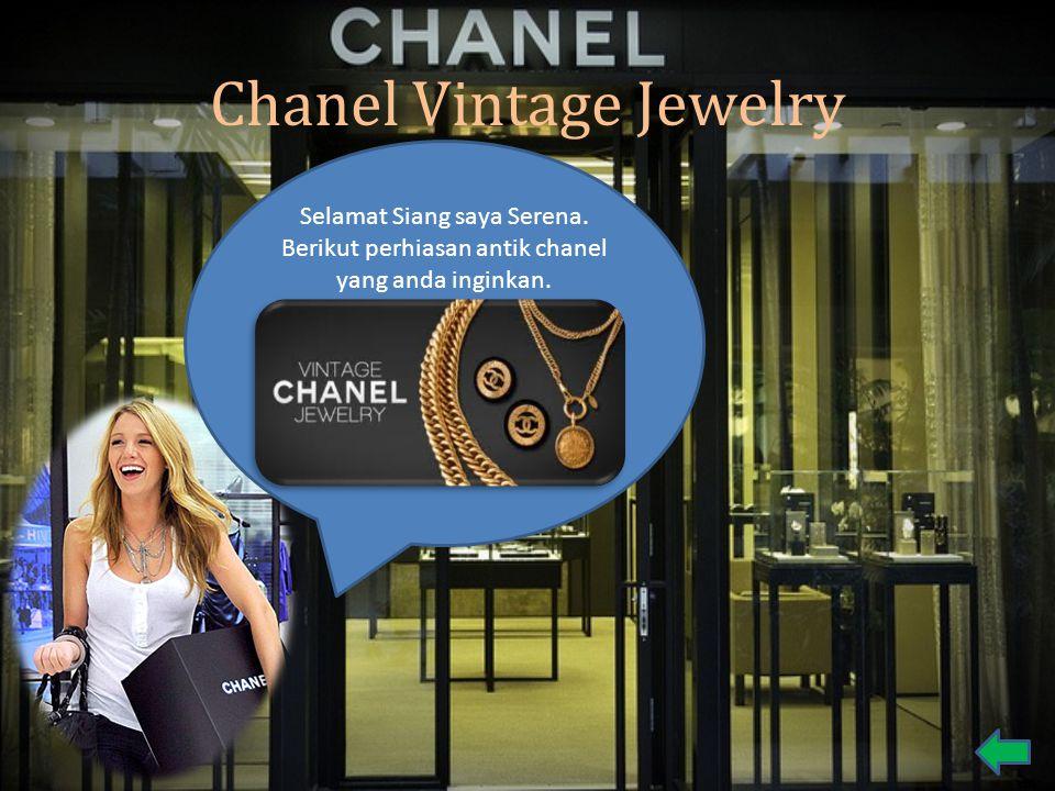 Chanel Vintage Jewelry Selamat Siang saya Serena. Berikut perhiasan antik chanel yang anda inginkan.