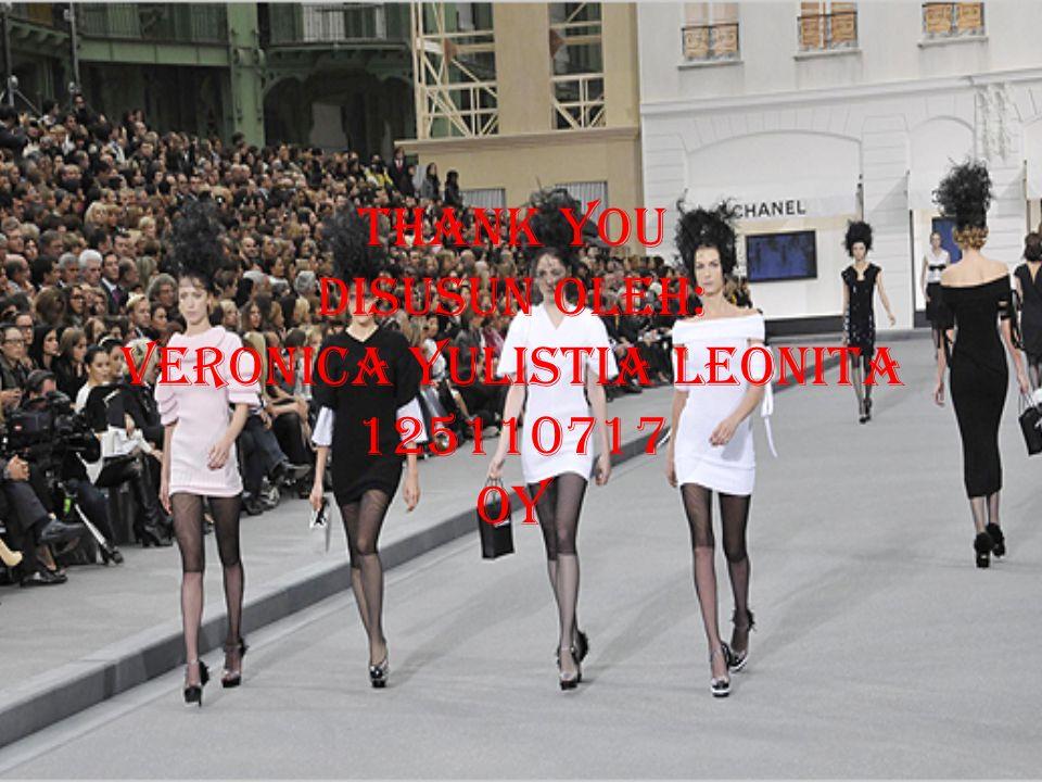 THANK YOU Disusun oleh: veronica yulistia leonita 125110717 oy