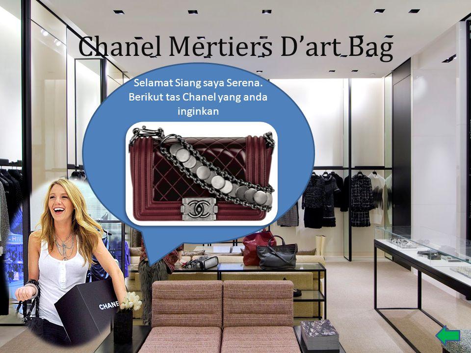 Chanel Mertiers D'art Bag Selamat Siang saya Serena. Berikut tas Chanel yang anda inginkan