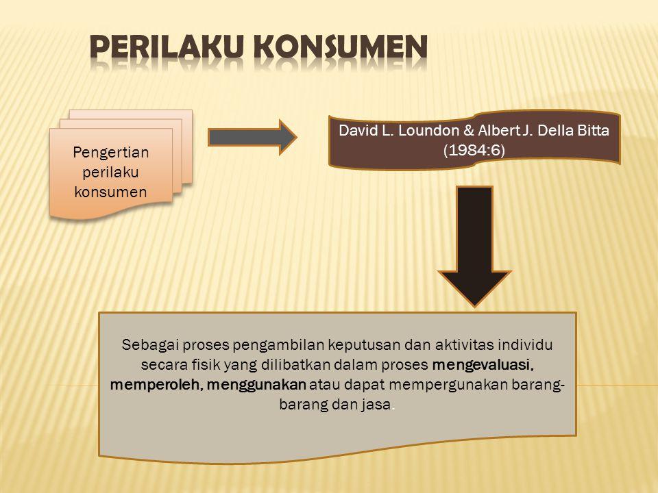 Pengertian perilaku konsumen Sebagai proses pengambilan keputusan dan aktivitas individu secara fisik yang dilibatkan dalam proses mengevaluasi, mempe
