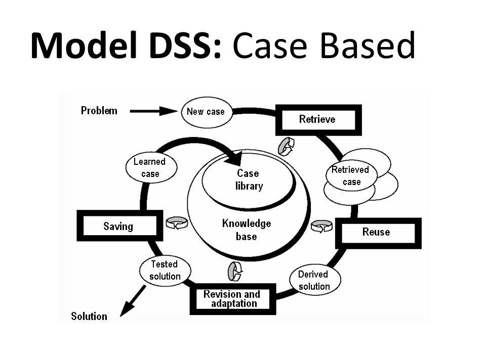 Model DSS: Case Based