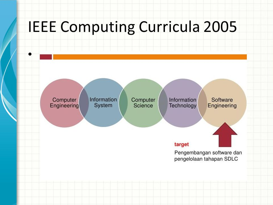 IEEE Computing Curricula 2005 •