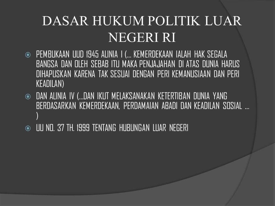 BBebas artinya bangsa Indonesia bebas menentukan sikap dan kebijaksanaan terhadap permasalahan internasional serta tidak mengikatkan diri hanya pada satu kekuatan dunia.