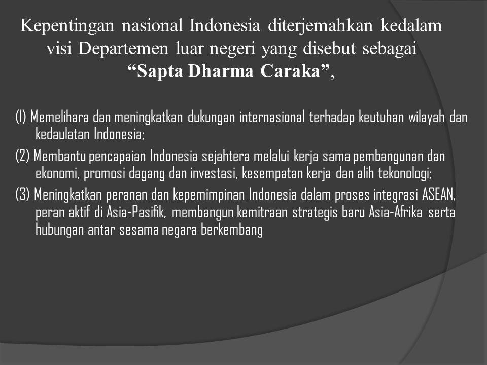 BERBAGAI PERMASALAHAN DI ERA GLOBAL YANG MENUNTUT PERLUNYA UPAYA MENINGKATKAN DIPLOMASI INDONESIA DI LUAR NEGERI KKETIDAKSEIMBANGAN HUBUNGAN ANTARA NEGARA BERKEMBANG DAN NEGARA MAJU BBELUM OPTIMALNYA PERAN INDONESIA PADA TINGKAT SUBREGIONAL ASIA TENGGARA DAN KRISIS YANG DIALAMI SEJAK TAHUN 1997 BBELUM TUNTASNYA MASALAH PERBATASAN ANTARA INDONESIA DENGAN NEGARA TETANGGA BBANYAK PERSOALAN YANG DIHADAPI OLEH WNI DI LUAR NEGERI AAdanya isu – isu global seperti hak asasi manusia (HAM), intervensi humaniter, demokrasi dan demokratisasi, good governance dan anti-korupsi, lingkungan hidup, masalah tenaga kerja, kejahatan transnasional seperti terorisme dll.