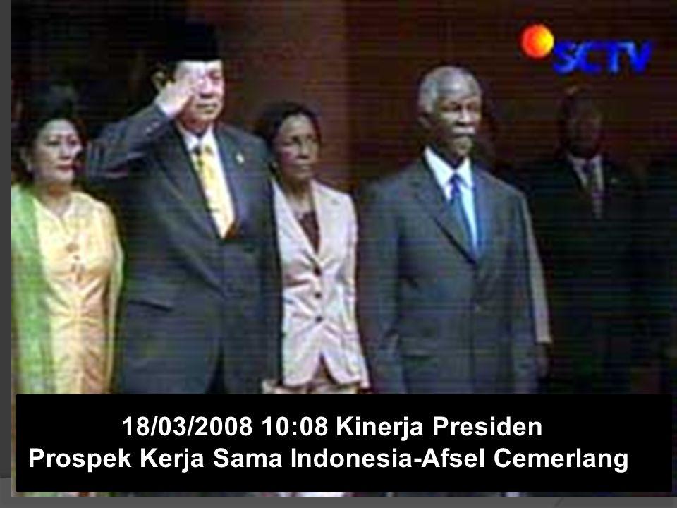 Presiden Yudhoyono di KTT OKI XI, Dakar, Senegal 15/03/2008 06:17 OKI