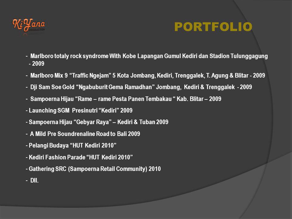PORTFOLIO - Gudang Garam Sepeda Santai Banjarnegara - 2006 - Mie Sedap Present Komik to be with U, Lap.