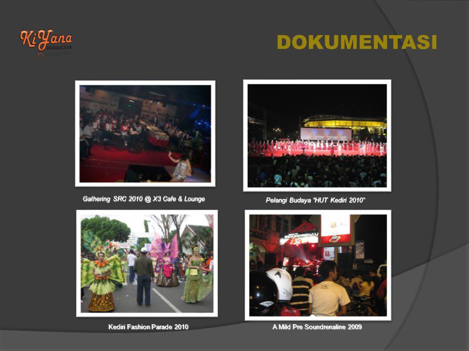 DOKUMENTASI Gathering SRC 2010 @ X3 Cafe & Lounge Pelangi Budaya HUT Kediri 2010 Kediri Fashion Parade 2010 A Mild Pre Soundrenaline 2009