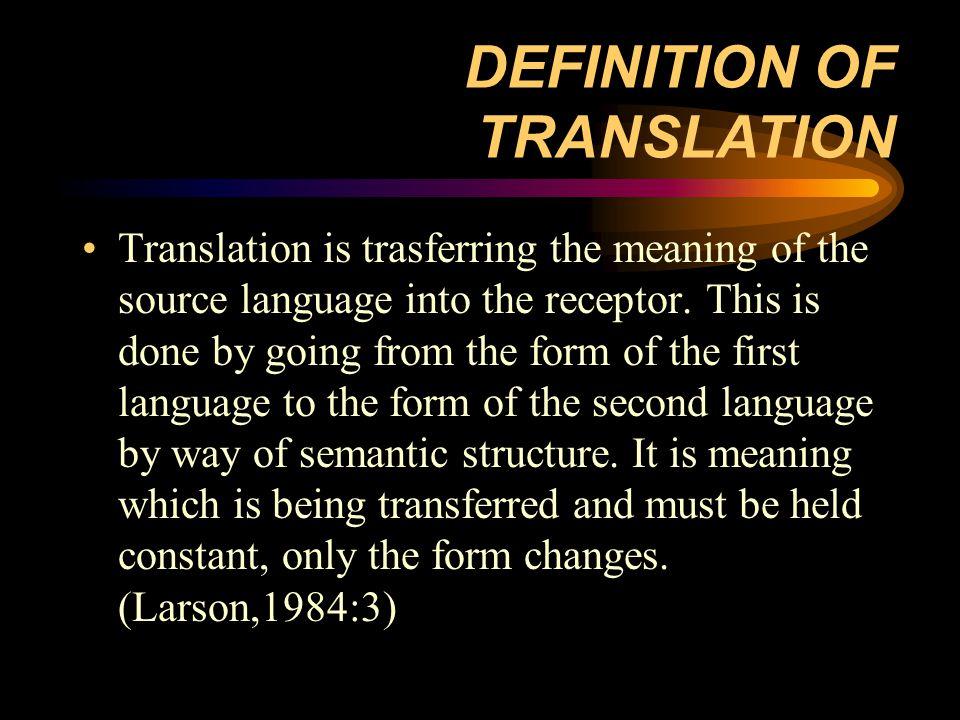 Translation is an art and skill The more you translate, the more you would be competent in translation Thank you Matur nuwun Terima kasih