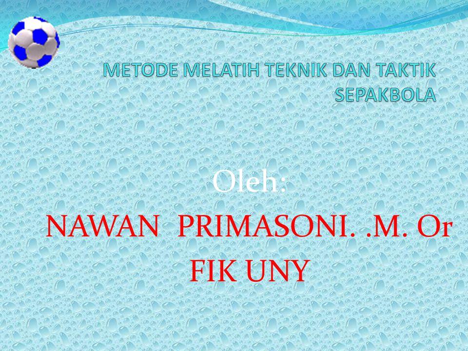 Oleh: NAWAN PRIMASONI..M. Or FIK UNY