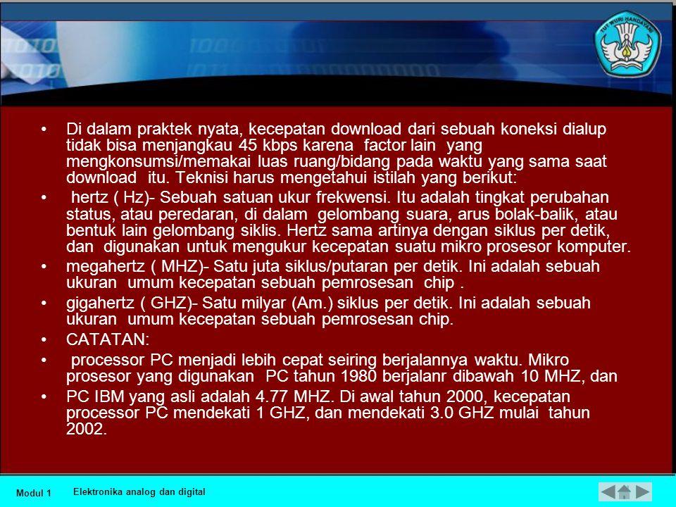 •CATATAN: • Suatu kesalahan umum adalh kebingungan antara KB dengan Kb Dan MB dengan Mb.