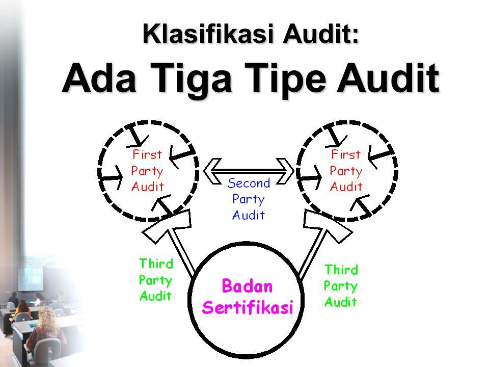 Klasifikasi Audit: Ada Tiga Tipe Audit
