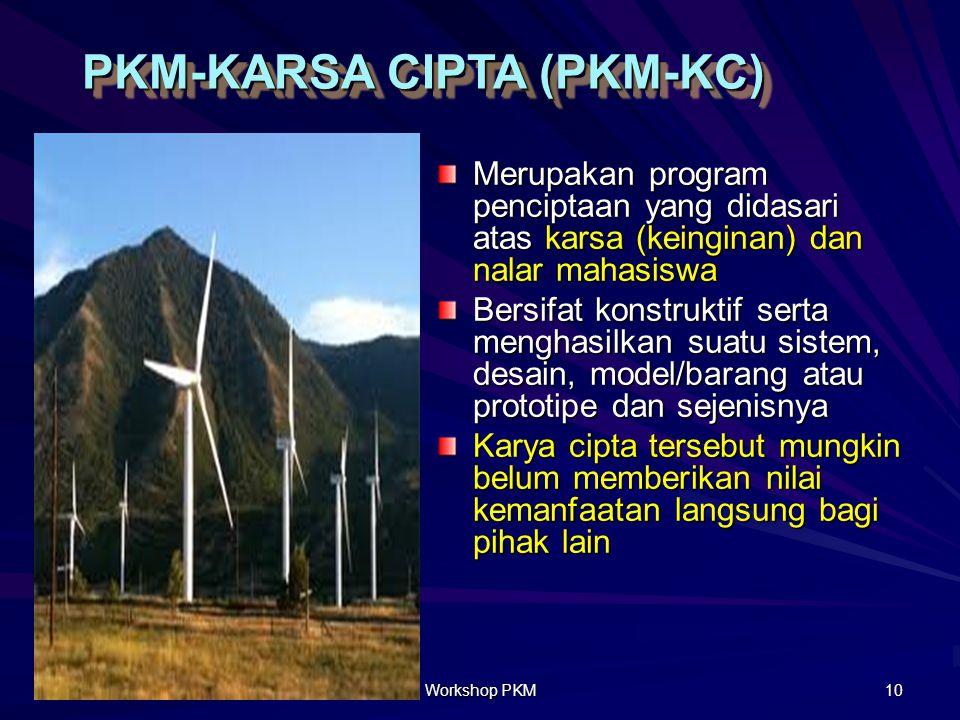 PKM Pengabdian Masyarakat (PKMM) PKM Pengabdian kepada Masyarakat (PKMM) merupakan kreativitas yang inovatif dalam membantu memecahkan persoalan di ma