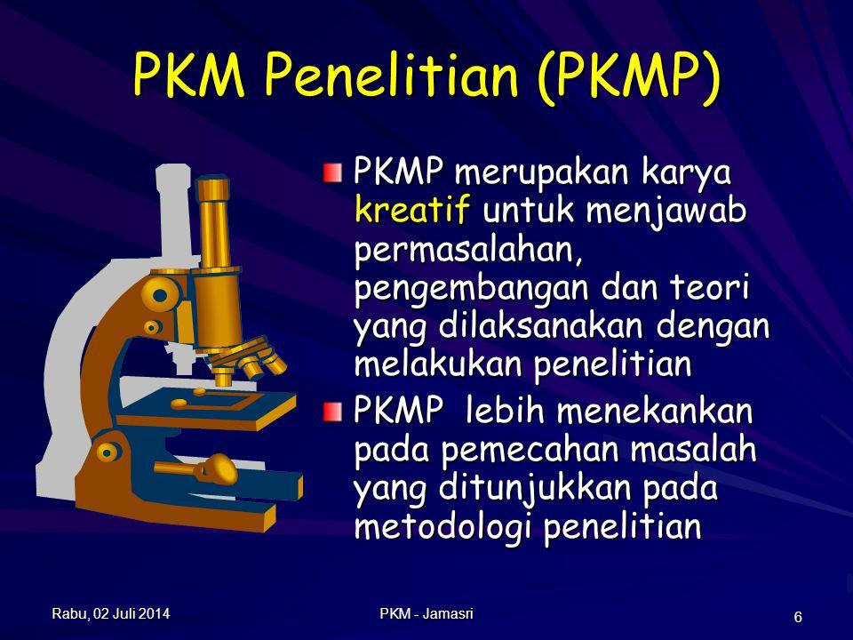 Rambu-Rambu PKMP Sesuai dengan bidang Ilmu, lintas bidang dianjurkan Ada Tinjauan Pustaka.