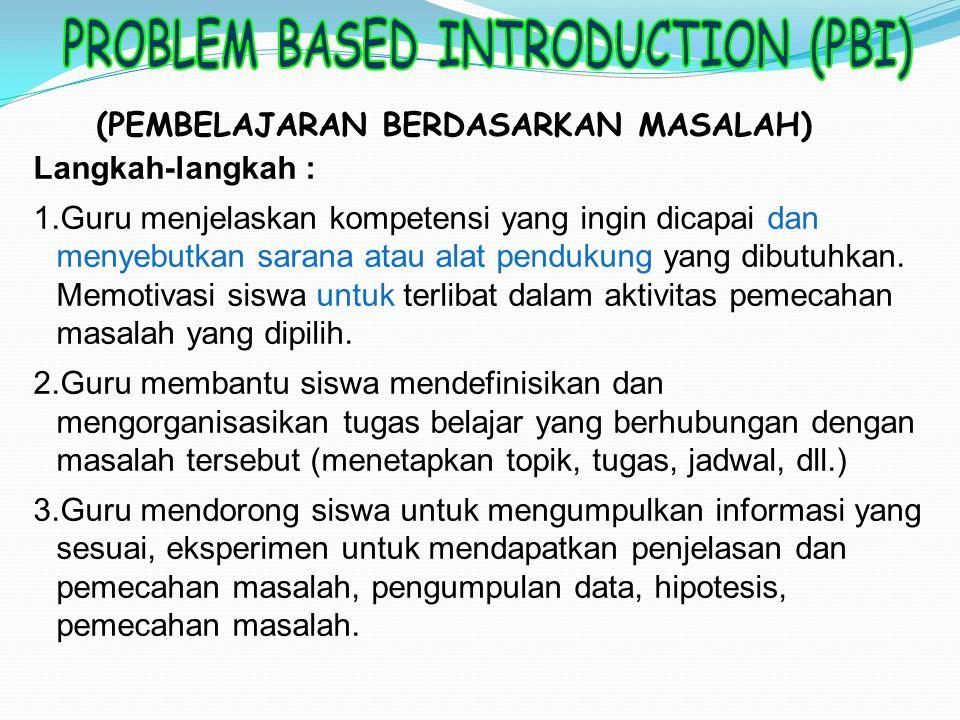 (MODIFIKASI DARI NUMBER HEADS) Langkah-langkah : 1.Siswa dibagi dalam kelompok, setiap siswa dalam setiap kelompok mendapat nomor 2.Penugasan diberika